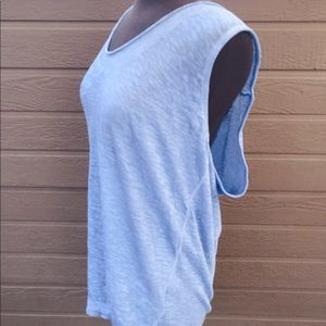 We the Free blue casual tank top